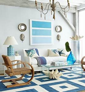 14 excellent beach themed living room ideas decor advisor With living room beach decorating ideas