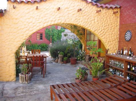 Hostal El Punto La Serena Chile A quaint little hostel