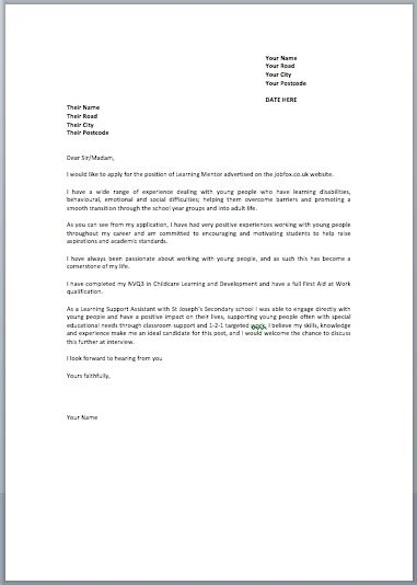 Free Covering Letter Template Uk letter template uk fee schedule template