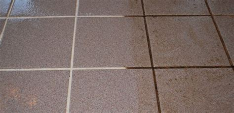 ceramic porcelain tile and grout cleaning restoration
