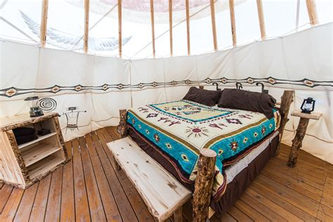 luxury tipis tents boulder mountain guest ranch