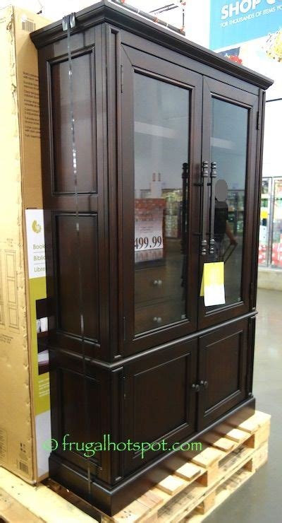 Bookcases Costco by Bayside Furnishings Glass Door Bookcase Costco