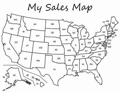 Map Sales Printable