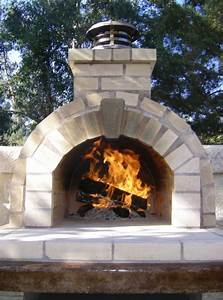 Outdoor Fireplace Pizza Oven Landscape Modern With Bread