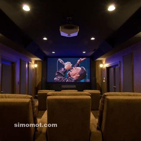 desain home theater  momot