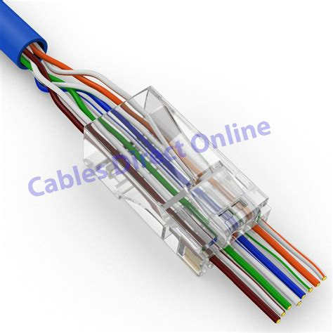 Cat Network Easy Plug Cable Quick Connector End