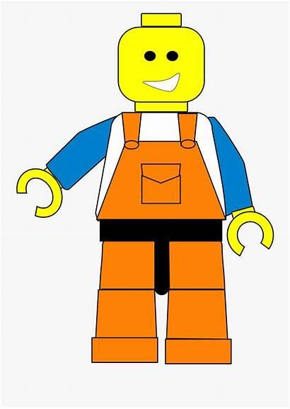 Lego Cartoon Boy Clipart Clipartkey Transparent