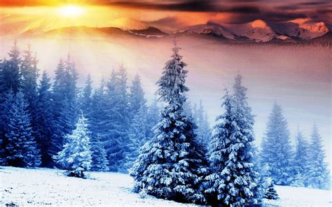 Beautiful Winter Wallpaper Hd by Beautiful Winter Mountains Desktop Wallpaper
