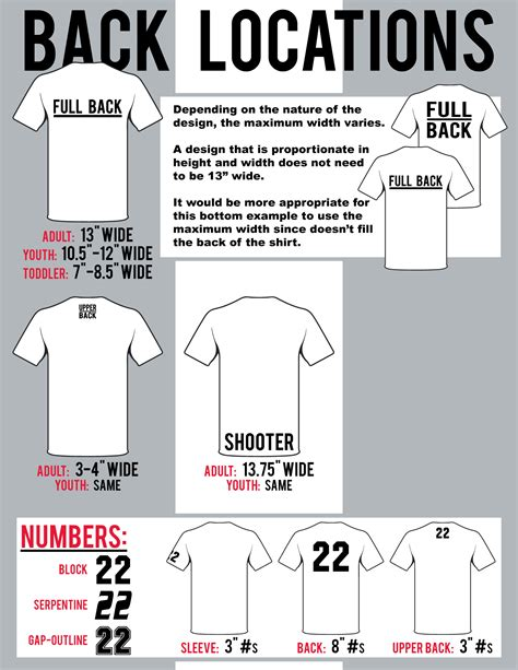 print size and locations atlantic sportswear