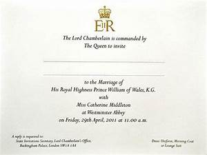 anorak the trouble with kate and williams wedding With wedding invitations wording debretts