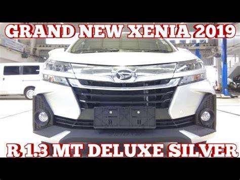 grand new 2019 daihatsu grand new r mt 1 3 deluxe silver 2019 indonesia youtube