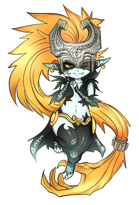 Midna R3 By Maniacpaint Legend Of Zelda Pinterest