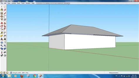 Tutorial Sketchup Cara Membuat Atap Rumah Multi Indah