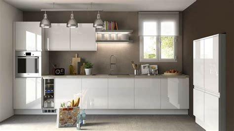 cuisine moderne blanc laqué cuisine blanc laquee meilleures images d 39 inspiration