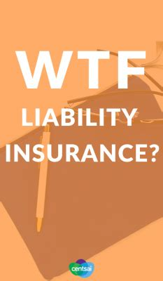 liability insurance     work life