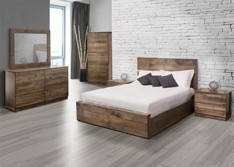 chambre mobilier de jc perreault mobilier de chambre à coucher en bois set