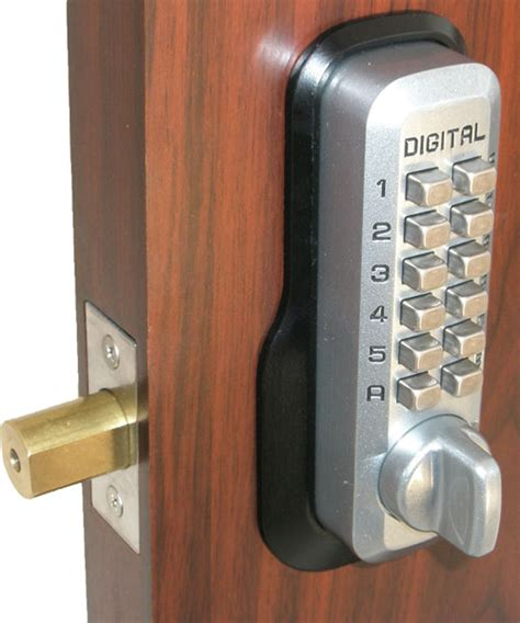 deadbolt locks for doors lockey m210 ez mg keyless mechanical digital deadbolt door