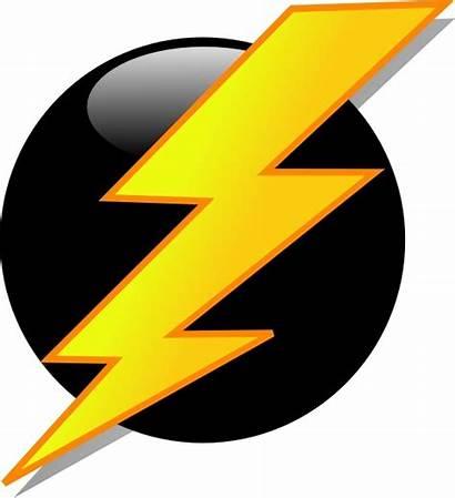 Lightning Clip Icon Vector Svg 59kb Bolt