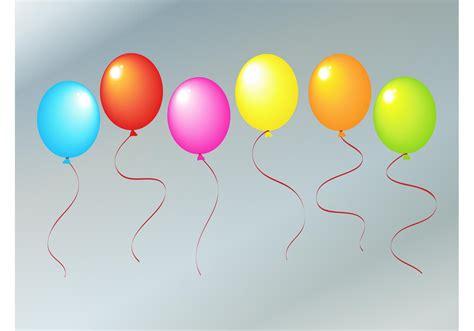 rainbow balloons   vector art stock