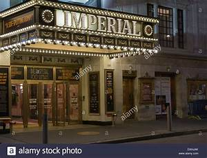 Broadway Imperial Theater Marquee, NYC Stock Photo ...