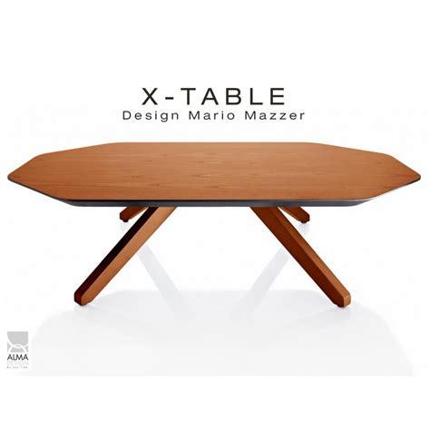 vernis pour table en bois table basse pour salon ou d accueil x table pi 232 tement et plateau bois de fr 234 ne vernis