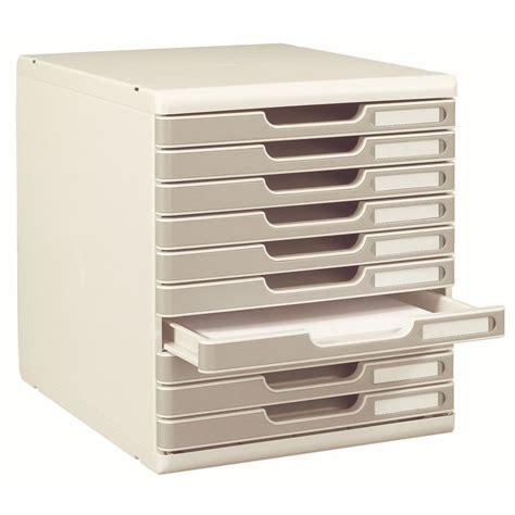 bloc de classement bureau exacompta module de classement exacompta modulo 10 tiroirs