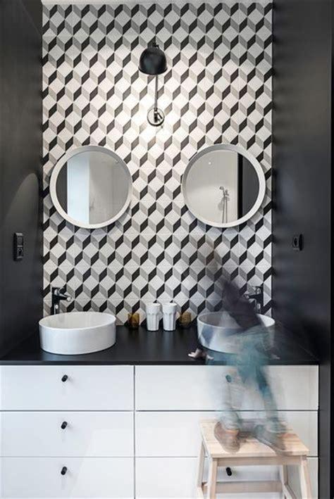 carreau salle de bain le carreau ciment dans la salle de bain e interiorconcept