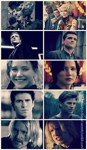 Effie Trinket, Peeta Mellark, Katniss Everdeen, Gale ...