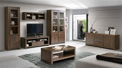wohnwand bis 200 wohnwand mit sideboard und couchtisch eiche durance woody