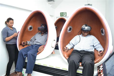 New Giftland Arcade Offers Virtualreality Gaming  Stabroek News