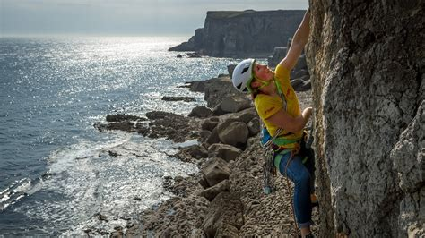 The Pembroke Experience Rock Climbing With Sophie Whyte