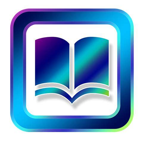 illustration icon book electronic finger