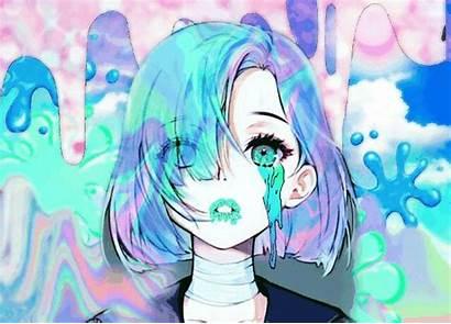 Anime Slime Kawaii Colorful Gifs Colors Edit