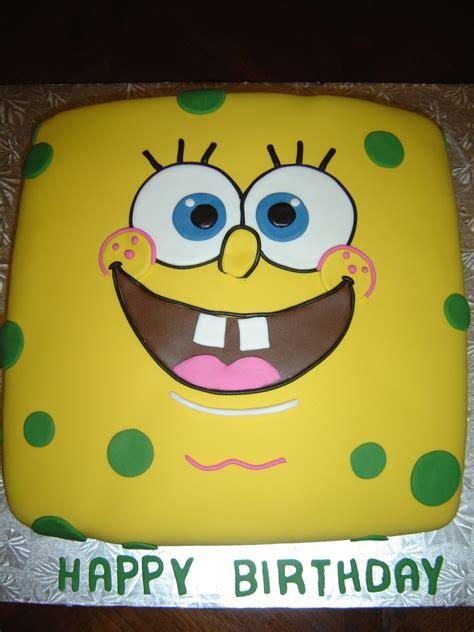 Stupendous Spongebob Squarepants Birthday Cake Recipe Birthday Cards Printable Inklcafe Filternl