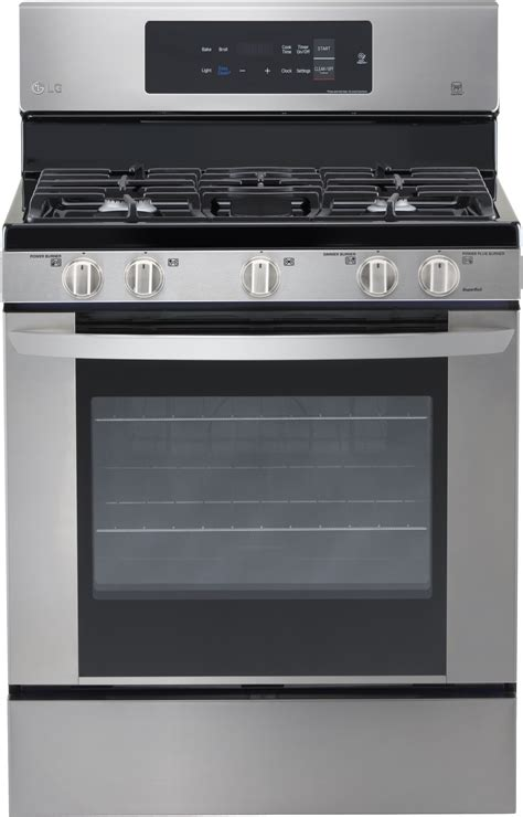 LG LRG3061ST 30 Inch Gas Range with 5 Sealed Burners, 54