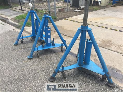 Omega Aviation Gse Aircraft Jacks Ground Support Equipment