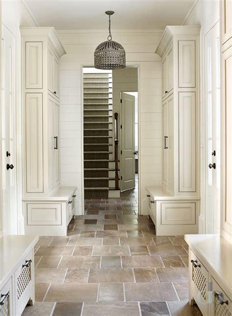 mudroom floor ideas mudroom with separate lockers and floor