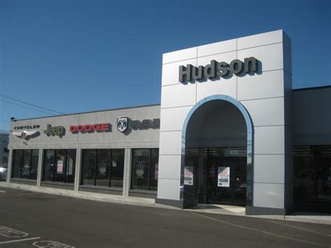 hudson chrysler jeep dodge car dealership  jersey city