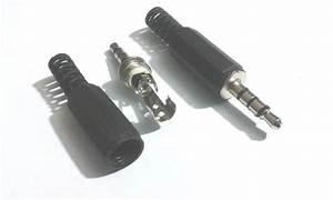 10 Pcs 3 5mm 4 Pole Stereo Audio Male Female Plug Jack
