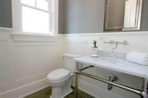 Bathroom Wainscotting by Source Milton Development Modern Bathroom With Gray Paint