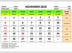 Kalender tahun 2018 masehi islam jawa dan libur nasional