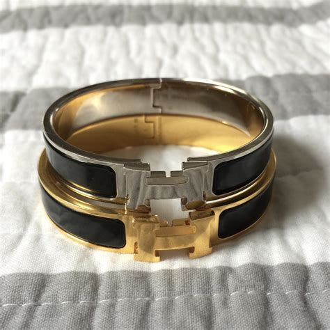 hermes h clic clac bangle domesticated me herm 232 s clic clac h bracelet pm vs gm