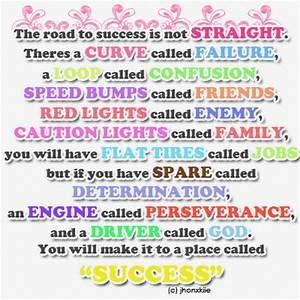 ROAD TO SUCCESS QUOTES TUMBLR image quotes at hippoquotes.com