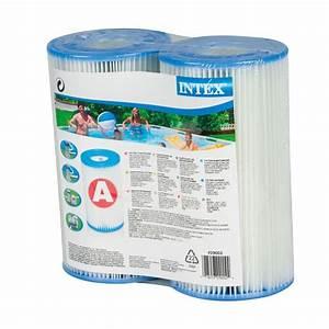 Filtration Piscine Intex : lot 2 cartouches de filtration intex type a ~ Melissatoandfro.com Idées de Décoration