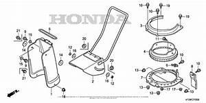 Honda Hs520 Asa Snow Blower  Usa  Vin  Szbg