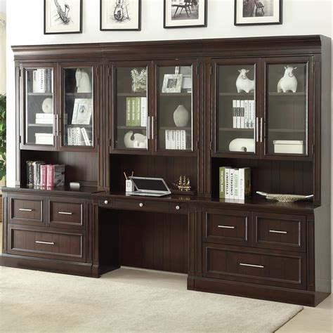 wall unit with desk house stanford wall unit with lateral files and