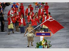 Meet the Tonga flag bearer Pita Taufatofua