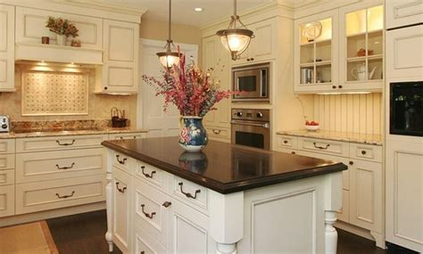 kitchen island countertops give  cooking area