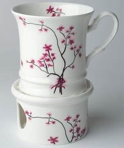 Tasse Mit Stövchen : tea 4 you becher cherry blossom ~ Orissabook.com Haus und Dekorationen