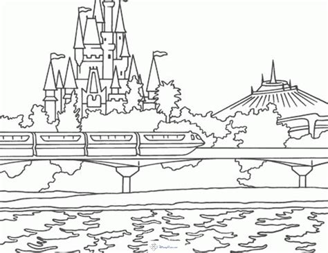 disney world coloring pages disney coloring pages